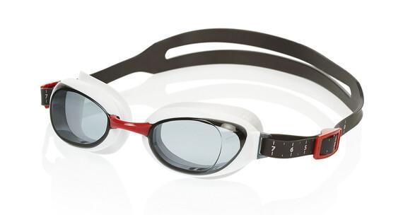 speedo Aquapure Goggle USA Red/Smoke